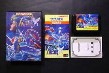 PHELIOS + reg.card Sega MegaDrive JAPAN Very.Good.Condition