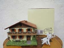 M.I. Hummel Goebel Farm House Figurine Working Stationary Light 827977 Mib