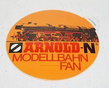 ARNOLD-N MODELLBAHN-FAN  - Aufkleber aus den 80er Jahren
