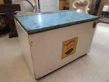 Antique Pepsi Cooler-Old Mexican-Ice Chest-Rare-Great Shape-Unique-17Wx24Lx16H