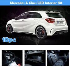 Intérieur DEL Ampoules Kit Fit Mercedes Classe A W176 A45 Blanc SMD A200 10pc