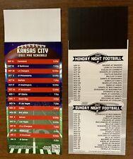 2021 Kansas City Chiefs Magnetic Football Schedule