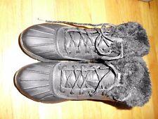 Women's Skechers Tone Ups Black Boots Lined  Size 6 NWOT