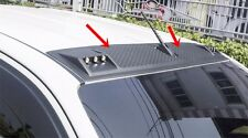 BLACK FRONT ROOF SPOILER FOR TOYOTA HILUX REVO SR5 M70 M80 2015 INSTALL WITH 3M