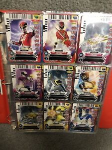 Power Rangers Action Card Game Complete Set (All 4 Series)