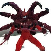 Vintage 1996 Marvel Spiderman Venom Planet Of Symbiotes Hybrid Action Figure
