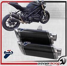 Termignoni D106 Terminali Scarico R 94 Carbonio Ducati StreetFighter 1098 09>13