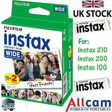 Fuji Instax Wide Film for Fujifilm 300 210 200 100 Instant Cameras