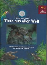 3 Euro Tier -Taler Sammelalbum  Sammelalbum Österreich