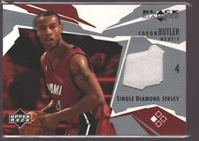 CARON BUTLER 2003-04 UD BLACK DIAMOND GAME USED WORN JERSEY PATCH SP HEAT $12