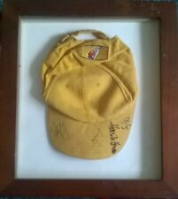 BENSON & HEDGES 2001 OFFICIAL CAP SIGNED BY HENRIK STENSON,  CABRERA  McGINLEY