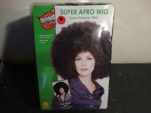 Super Black Afro Wig Unisex