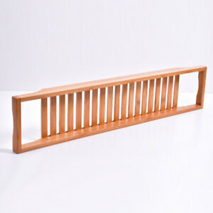 Extendable Bamboo Bath Caddy Adjustable Home Spa Wooden Bath Tray