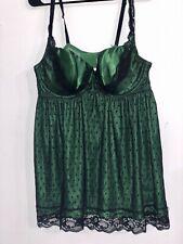 Cacique Teddie Lingerie Emerald Green