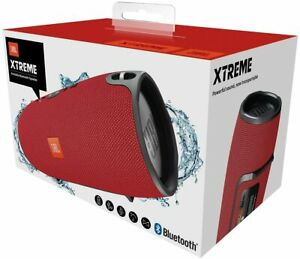 JBL  Xtreme Portable Bluetooth Speaker Red