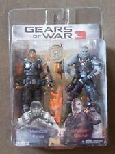 neca gears of war 3 marcus fenix & locust grunt 2 pack tru exclusive