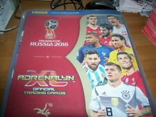 PANINI WORLD CUP RUSSIA 2018 CARDS IN ALBUM