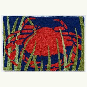 HCI Jellybean Rug - Red Crab in Seaweed (JB-SFG059)