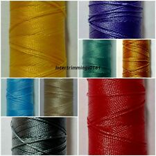 IPCABOND, STRONG BONDED NYLON THREAD 30'S, 180MTR SPOOL, ASSORTED COLOURS