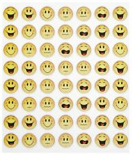 Sticker Einladung Geburtstag Scapbooking Smiley-Beurteilung lustige Gesichter