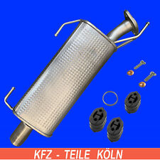 Muffler with Assembly Kit for Nissan Juke (F15) 1.5 DCI 1.6 Dig-T