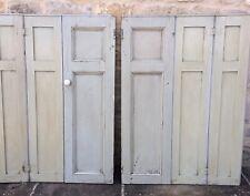 Vintage Antique Wooden  Shutters