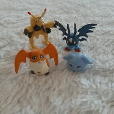 Digimon LOT Bandai 2000 2001Mini Figures Pagumon Patamon Demi Devimon Digmon