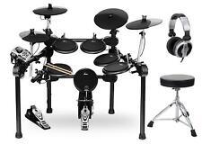 Batteria Percussione Elettronico E-Drum Drum Set Rack Modulo 458 Suoni Supporti