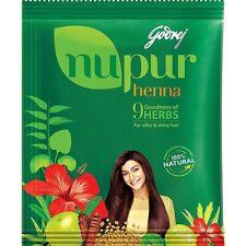 Nupur Henna Mehandi Powder 120 grams New Pack  9 Herbs Hair Color 100% Natural