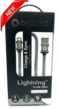 NEW Quikcell Lightning to USB Braided Charger Cable for iPhones, iPads & iPods