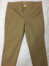 Womens Old Navy Pixie Chino Classic Khaki Pants Size 12