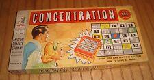 Vintage 1959 Milton Bradley CONCENTRATION TV Show Board Game