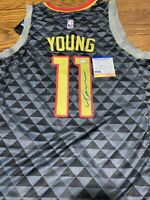 Trae Young Signed Autographed Atlanta Hawks Jersey! PSA COA!