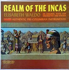 ELISABETH WALDO - REALM OF THE INCAS - GNP CRESCENDO - LP
