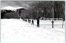 RPPC  FLAGSTAFF, Arizona  AZ    SKI TOW at ARIZONA SNOW BOWL    Postcard