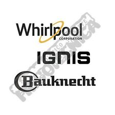 WHIRLPOOL IGNIS BAUCKNECHT FRIGORIFERO RIPIANO VETRO 481245088481