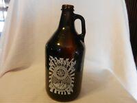 Cumbre Brewing Co. Albuquerque NM 64 ounce Brown Glass Beer Bottle Logo empty