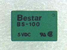 BS-100S5VDC BESTAR MINIATURE RELAY 5VDC 4 PIECES