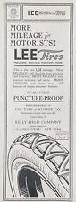 1915 AD(L22)~LEE TIRE & RUBBER CO. CONSHOHOCKEN, PA. LEE TIRES