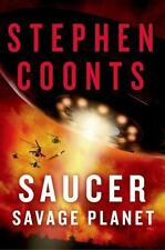NEW - Saucer: Savage Planet: A Novel by Coonts, Stephen