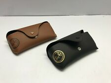 LOT 2 Case Ray Ban Sunglasses Eyeglasses Black Brown Case Only