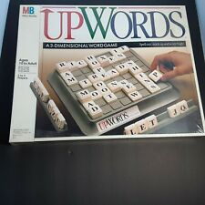 Vintage 1988 UPWORDS 3-Dimensional Word Game Milton Bradley #4312 - NEW & Sealed