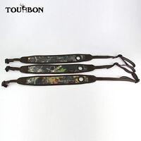 Tourbon Rifle Sling Padded Strap Non-slip Tactical Gun Range Shooting Camouflage