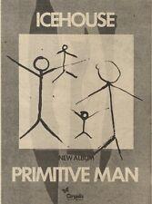 2/10/82Pgn50 Advert: Icehouse New Album primitive Man 7x5