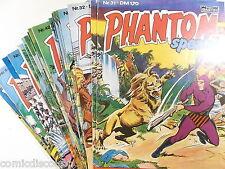 Auswahl = PHANTOM SPEZIAL Heft # 31 - 49 ( Bastei Verlag 1980-1982 )