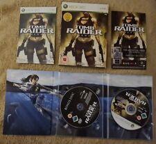 Rare Xbox 360-Tomb Raider: Underworld Limited Edition. * jouable sur XBOX ONE *