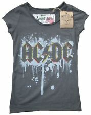 AMPLIFIED Official AC/DC ACDC Tattoo Rock Star Vintage Spray ViP T-Shirt g.S 36