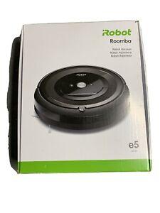 iRobot Roomba e5 E5150 Wi-Fi Connected Robot Vacuum - Charcoal - New!!!