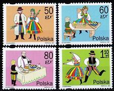 POLAND 1997 **MNH SC#3331/34 Easter Traditions