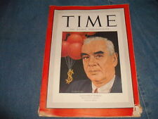 Time Magazine, C.I.O.;s Philip Murray, January 21,1946,  Ads *
